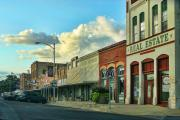 Old Town Elgin Print by Linda Phelps