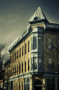 Fort Collins Digital Art Metal Prints - Old Town Fort Collins Metal Print by Julieanna D
