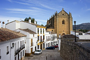 Pueblo Blanco Metal Prints - Old Town of Ronda Metal Print by Artur Bogacki