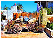 Fences Prints - Old Town San Diego Print by Glenn McCarthy Art and Photography