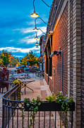 Fort Collins Art - Old Town Sunset by Keith Ducker