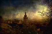 Old Town Print by Vjekoslav Antic