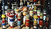 Toy Shop Photo Metal Prints - Old Toys Metal Print by Cister Vengue