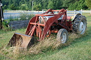 Rural Metal Prints - Old Tractor Metal Print by Jennifer Lyon