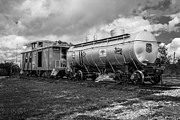 Old Caboose Photos - Old Train Cars by Doug Long