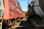 Malu Couttolenc - Old Train Wagons at Ease