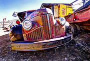 Digital Camera Prints - Old Truck Gold King Mine AZ. Print by James Steele