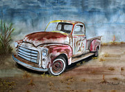 Laurie Penrod - Old Truck with character...