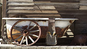 Old Objects Photo Metal Prints - Old Tub Metal Print by Enzie Shahmiri
