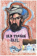 Criticism Painting Prints - Old Tucson Jail Print by Picarson