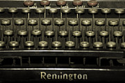 Typewriter Photos - Old Typewriter by Agrofilms Photography