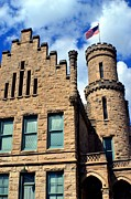 Evansville Indiana Photos - Old Vanderburgh County Jail by Deena Stoddard