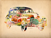 Vw Beetle Framed Prints - Old Volkswagen Framed Print by Mark Ashkenazi