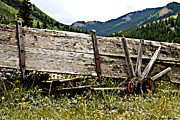 Ashcroft Prints - Old Wagon Print by Bill Keiran
