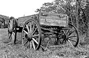 Antiquated Prints - Old Wagon Print by Mike Flynn