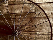 Spooks Photos - Old Wagon Wheel by Annette Allman
