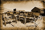 Towns Digital Art - Old West Decor Theme Two by John Malone