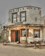 Tap On Photo Prints - Old West Hotel Print by Marcia Fontes Photography