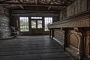 Miners Ghost Photos - Old West Saloon Bar -- Bannack Ghost Town Montana by Daniel Hagerman