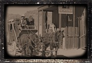 David Rizzo - Old West Stagecoach