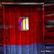Gunter Nezhoda - old western jailhouse door