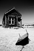 Old West Photo Metal Prints - Old Wheelbarrow Metal Print by Cat Connor