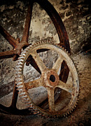Old Wheels Print by Odd Jeppesen
