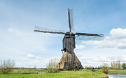 Ruud Morijn - Old windmill in a Dutch...