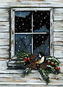 Joyce Geleynse - Old Window At Christmas