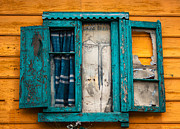 Concepts  Originals - Old Window in Caminito Argentina by Nelieta Mishchenko