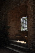 Window Bars Prints - Old Window Print by Michele Bougarel