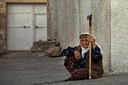 Old Woman Print by Yavuz Sariyildiz