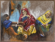 Rina Bhabra - Old Women Meeting
