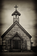 Wooden Building Framed Prints - Old Wooden Sanctuary Framed Print by Margie Hurwich