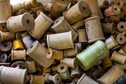 Lynn Palmer - Old Wooden Thread Spools