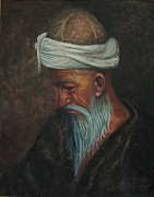 Wise Old Man Paintings - Old World by Dominic Giglio