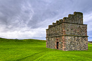 Listed Building Framed Prints - Old World Dovecot At Tantallon Castle Framed Print by Mark E Tisdale
