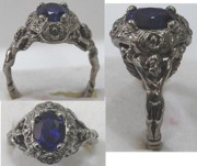 Style Jewelry - Old World Gothic Antique Style Rennaisance Mans Ring by Michelle  Robison