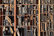 Typographic  Photos - Old World Letterpress by Carter Jones