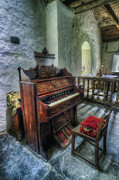 Organ Photo Posters - Olde Church Organ v2 Poster by Ian Mitchell