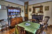 Table Cloth Photos - Olde Dining Room by Ian Mitchell
