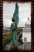 Filmstrip Art - Olde Montreal Angel by Alice Gipson