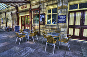 Coffee House Prints - Olde Station Cafe Print by Ian Mitchell
