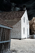 Old School House Photos - Olde Towne Angles by John Rizzuto
