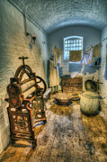 Vintage Clothes Photos - Olde Wash Room by Ian Mitchell