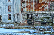Feed Mill Photo Metal Prints - OldMill Metal Print by Tamera James