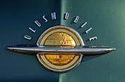Oldsmobile Posters - Oldsmobile 98 DeLuxe Holiday Sedan 1951 Poster by George Atsametakis