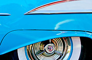Oldsmobile Photos - Oldsmobile 98 Wheel Emblem by Jill Reger