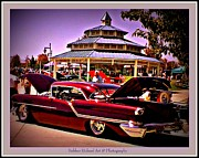 Print On Acrylic Prints - Oldsmobile Beauty Print by Bobbee Rickard