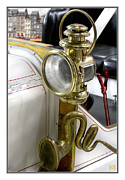 Past Times Prints - Oldtimer Front Light Print by Heiko Koehrer-Wagner